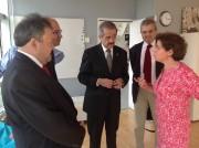 Visite du Dr J Armando Ahued de Mexico